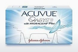 Lentes de contacto Johnson & Johnson ACUVUE OASYS with HYDRACLEAR Plus PH-6P-REV