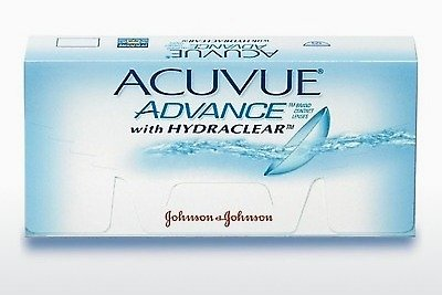 Lentes de contacto Johnson & Johnson ACUVUE ADVANCE with HYDRACLEAR AVG-6P-REV