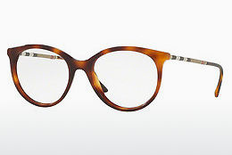 Gafas de diseño Burberry BE2244Q 3316 - Marrones, Havanna