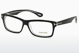 Gafas de diseño Tom Ford FT5146 003 - Negras, Transparent