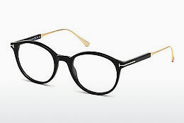 Gafas de diseño Tom Ford FT5485 001 - Negras, Shiny