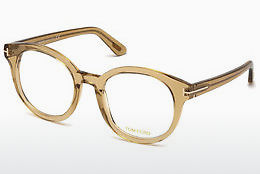 Gafas de diseño Tom Ford FT5491 045 - Marrones, Bright, Shiny