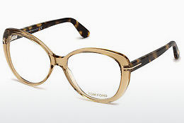 Gafas de diseño Tom Ford FT5492 045 - Marrones, Bright, Shiny
