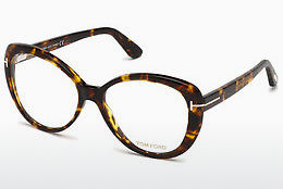 Gafas de diseño Tom Ford FT5492 052 - Marrones, Dark, Havana
