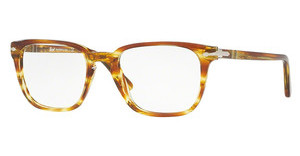 Persol PO3117V 1050 STRIPED BROWN YELLOW