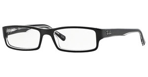 Ray-Ban RX5246 2034 TOP BLACK ON TRANSPARENT