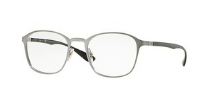 Ray-Ban RX6357 2553 BRUSHED GUNMETAL