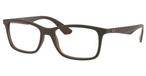 Ray-Ban RX7047 5451 MATTE TRASP BROWN