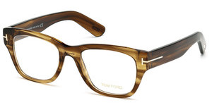Tom Ford FT5379 048 braun dunkel glanz