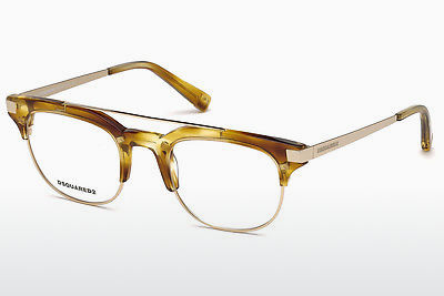 Gafas de diseño Dsquared DQ5210 047 - Marrones, Bright