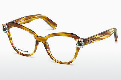 Gafas de diseño Dsquared DQ5212 047 - Marrones, Bright