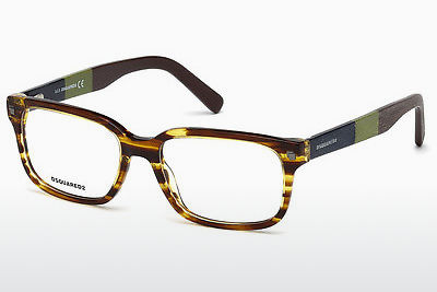 Gafas de diseño Dsquared DQ5216 047 - Marrones, Bright
