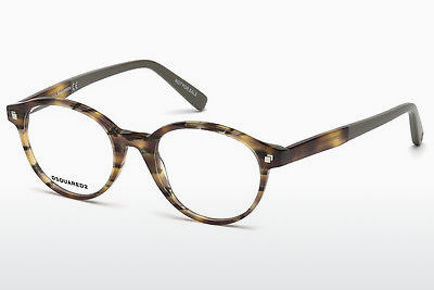 Gafas de diseño Dsquared DQ5227 053 - Havanna, Yellow, Blond, Brown