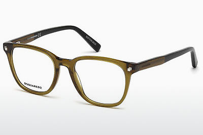 Gafas de diseño Dsquared DQ5228 047 - Marrones, Bright