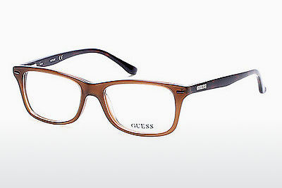 Gafas de diseño Guess GU2579 045 - Marrones, Bright, Shiny