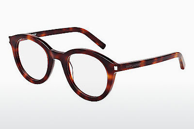 Gafas de diseño Saint Laurent SL 105 002 - Marrones, Havanna
