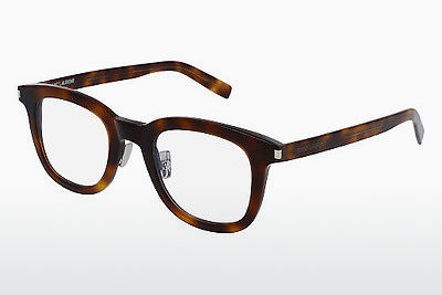 Gafas de diseño Saint Laurent SL 141/F SLIM 002 - Marrones, Havanna