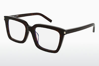 Gafas de diseño Saint Laurent SL 167/F 002 - Marrones, Havanna