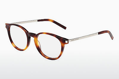 Gafas de diseño Saint Laurent SL 25 002 - Marrones, Havanna