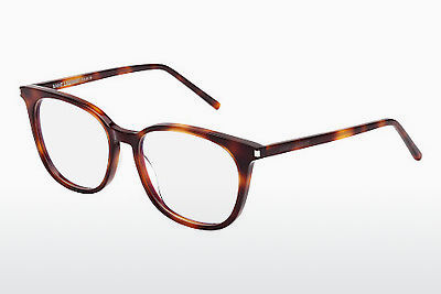 Gafas de diseño Saint Laurent SL 38 002 - Marrones, Havanna