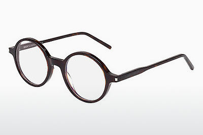 Gafas de diseño Saint Laurent SL 49 002 - Marrones, Havanna
