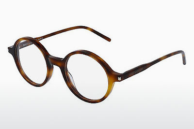 Gafas de diseño Saint Laurent SL 49 005 - Marrones, Havanna