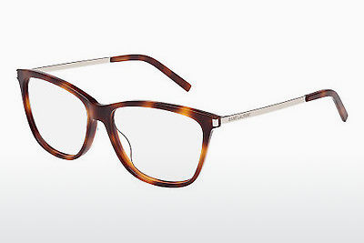 Gafas de diseño Saint Laurent SL 92 002 - Marrones, Havanna