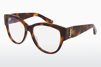 Gafas de diseño Saint Laurent SL M5 002 - Marrones, Havanna