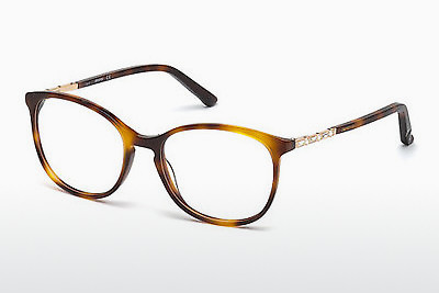 Gafas de diseño Swarovski SK5163 053 - Havanna, Yellow, Blond, Brown