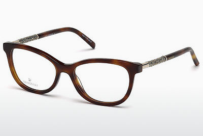 Gafas de diseño Swarovski SK5211 053 - Havanna, Yellow, Blond, Brown