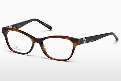 Gafas de diseño Swarovski SK5219 053 - Havanna, Yellow, Blond, Brown
