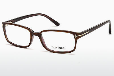 Gafas de diseño Tom Ford FT5209 047 - Marrones, Bright