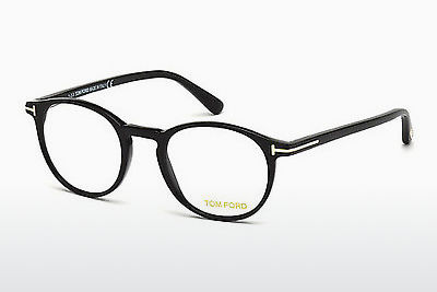 Gafas de diseño Tom Ford FT5294 001 - Negras, Shiny