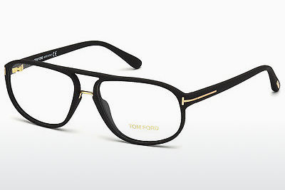 Gafas de diseño Tom Ford FT5296 002 - Negras, Matt