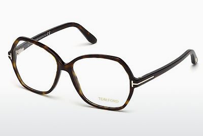Gafas de diseño Tom Ford FT5300 052 - Marrones, Dark, Havana