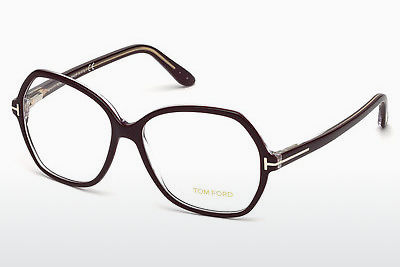 Gafas de diseño Tom Ford FT5300 071 - Borgoña, Bordeaux