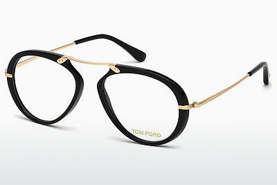 Gafas de diseño Tom Ford FT5346 001 - Negras, Shiny