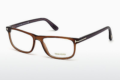 Gafas de diseño Tom Ford FT5356 048 - Marrones, Dark, Shiny