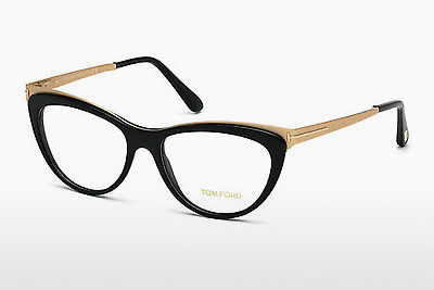Gafas de diseño Tom Ford FT5373 001 - Negras, Shiny