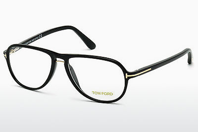 Gafas de diseño Tom Ford FT5380 001 - Negras, Shiny