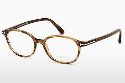 Gafas de diseño Tom Ford FT5391 048 - Marrones, Dark, Shiny