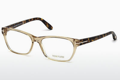 Gafas de diseño Tom Ford FT5405 045 - Marrones, Bright, Shiny