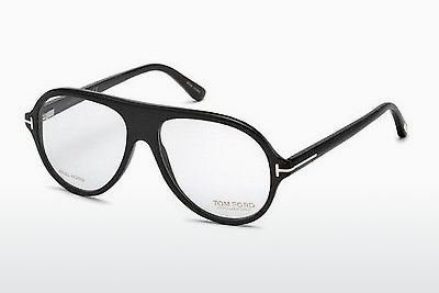 Gafas de diseño Tom Ford FT5437-P 63A - Marrones, Ivory, Black