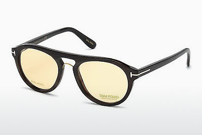 Gafas de diseño Tom Ford FT5438-P 64E - Concha, Horn, Brown