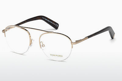 Gafas de diseño Tom Ford FT5451 28B - Oro
