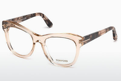 Gafas de diseño Tom Ford FT5463 045 - Marrones, Bright, Shiny