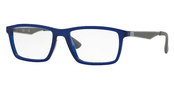 Ray-Ban RX7056 5393 SHINY BLUE