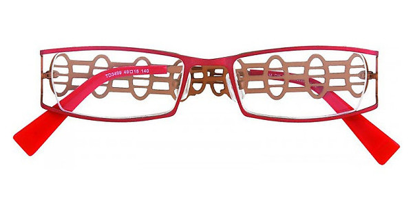 Tim Dilsen TD3499 matt red/ brown