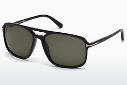 Gafas de visión Tom Ford Terry (FT0332 01B) - Negras, Shiny
