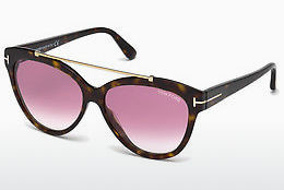 Gafas de visión Tom Ford Livia (FT0518 52Z) - Marrones, Dark, Havana